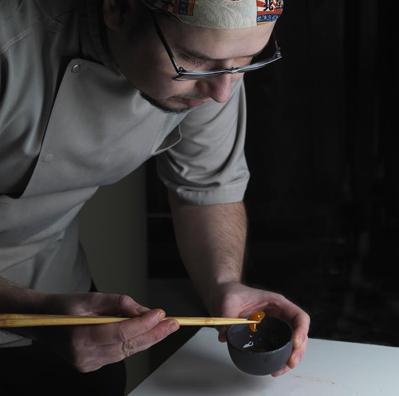 Gabor Vellai - Head chef Hinoki